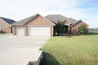 Tuttle Single Family Home For Sale: 6809 Rolling Meadows