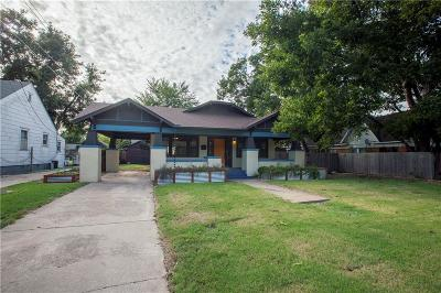 Oklahoma City Single Family Home For Sale: 2115 N Youngs Boulevard