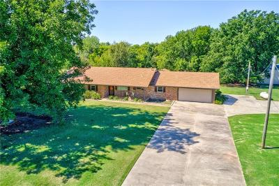 Tuttle Single Family Home For Sale: 801 S Cemetery