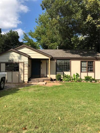 Oklahoma City Single Family Home For Sale: 2441 NW 42nd