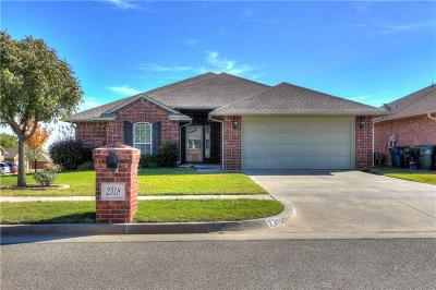 Midwest City OK Single Family Home For Sale: $172,500