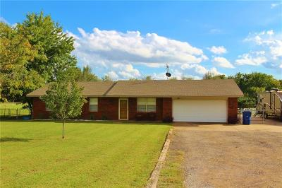 Chickasha Single Family Home For Sale: 3687 State Highway 92