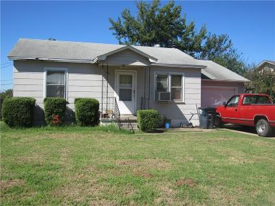 Stroud Single Family Home For Sale: 524 N Ford