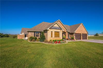 Blanchard OK Single Family Home For Sale: $324,900