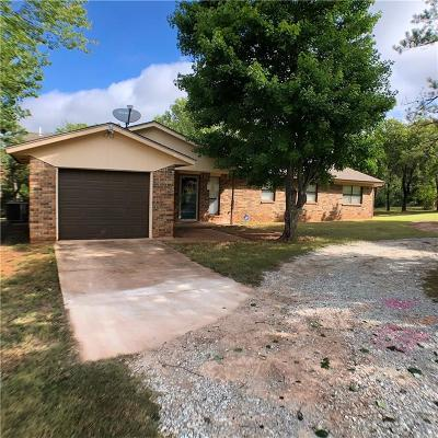 Purcell Single Family Home For Sale: 21415 State Highway 39