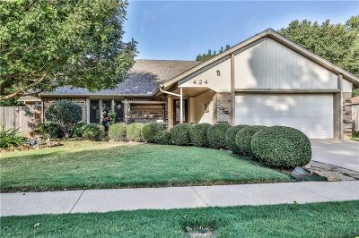 Norman Single Family Home For Sale: 424 Garland