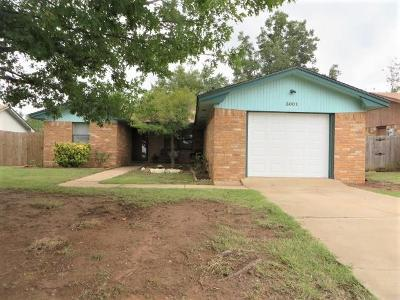 Single Family Home For Sale: 3001 W Montana
