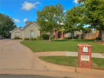 Edmond Single Family Home For Sale: 13721 Plantation Way