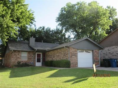 Midwest City Single Family Home For Sale: 1025 Parkview