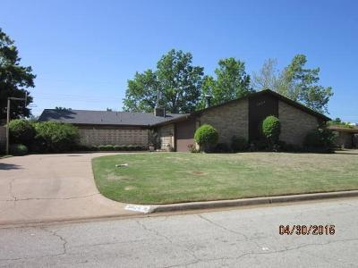 Oklahoma City Single Family Home For Sale: 3804 NW 68th Street