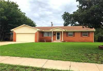 Altus OK Single Family Home For Sale: $159,900