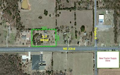 Canadian County, Oklahoma County Residential Lots & Land For Sale: 16925 NE 23rd
