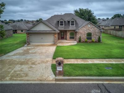 Blanchard OK Single Family Home For Sale: $210,000