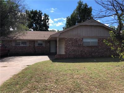 Del City Single Family Home For Sale: 3312 Cheek Place