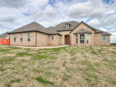 Choctaw Single Family Home For Sale: 2422 Shady Hollow