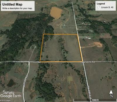 Lincoln County Residential Lots & Land For Sale: S County Road 3380 Road