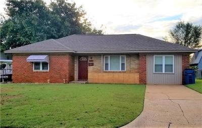 Guthrie Single Family Home For Sale: 1407 Fogarty