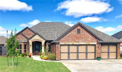 Mustang Single Family Home For Sale: 557 W Pine Rose Court