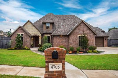 Edmond Single Family Home For Sale: 4708 Briar Forest Court