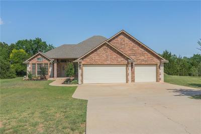 Blanchard OK Single Family Home For Sale: $229,900