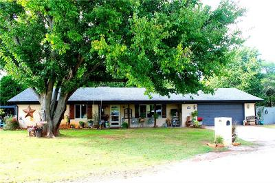 Purcell Single Family Home For Sale: 1611 Garland