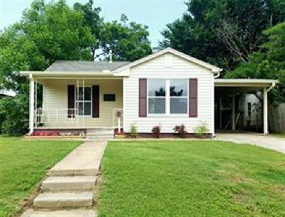 Chickasha OK Single Family Home For Sale: $35,000