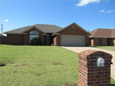 Altus Single Family Home For Sale: 2817 Gettysburg