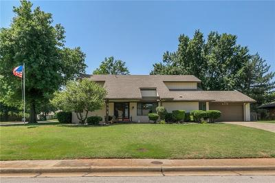 Lincoln County, Oklahoma County Single Family Home For Sale: 408 Canyon Rd.