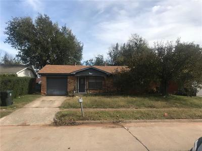 Midwest City OK Single Family Home For Sale: $44,500
