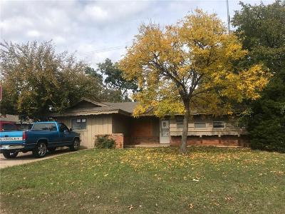 Del City OK Single Family Home For Sale: $65,000