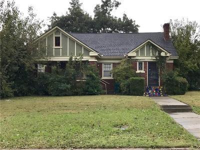 Oklahoma City Single Family Home For Sale: 2052 NW 21st Street