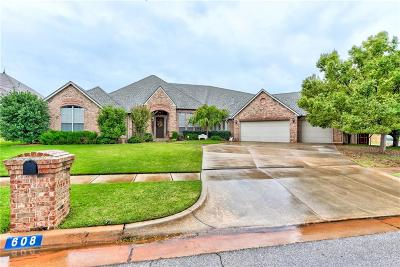 Edmond Single Family Home For Sale: 608 NW 151st Circle