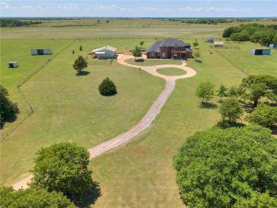 Guthrie Single Family Home For Sale: 5159 S Santa Fe 5 Acres