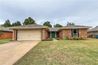 Edmond Single Family Home For Sale: 3812 Jim Robison Drive