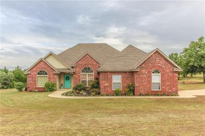 Blanchard OK Single Family Home For Sale: $248,000