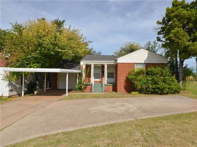 Oklahoma City Single Family Home For Sale: 2109 NW 36th Street
