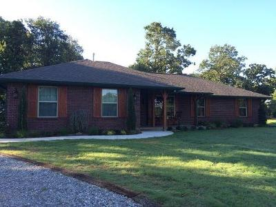 McLoud Single Family Home For Sale: 15 Red Eagle