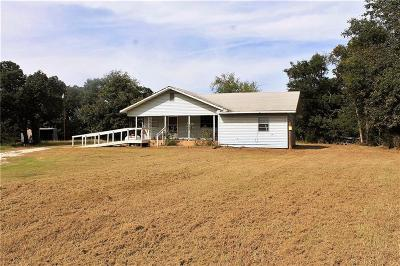 Lincoln County Single Family Home For Sale: 350750 E 970 Road