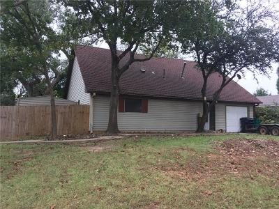 Oklahoma City OK Single Family Home For Sale: $84,900
