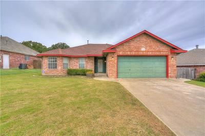 Choctaw Single Family Home For Sale: 1721 Cherokee Trail