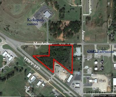 Shawnee Residential Lots & Land For Sale: Hwy177/Macarthur