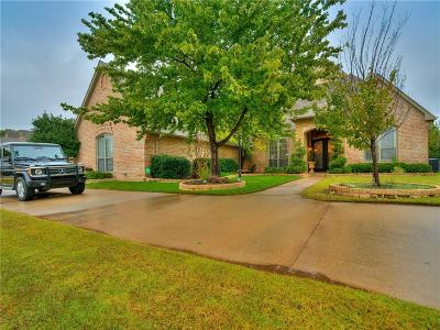 Edmond Single Family Home For Sale: 16000 Brenton Hills