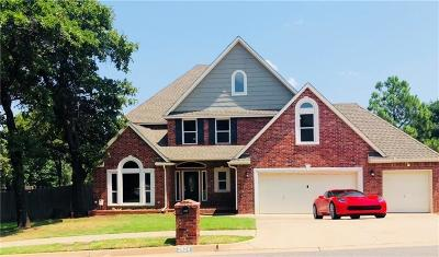 Edmond Single Family Home For Sale: 2624 Buckhorn Drive