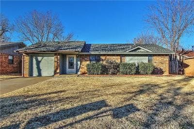 Mustang Single Family Home For Sale: 1029 W Griggs Way