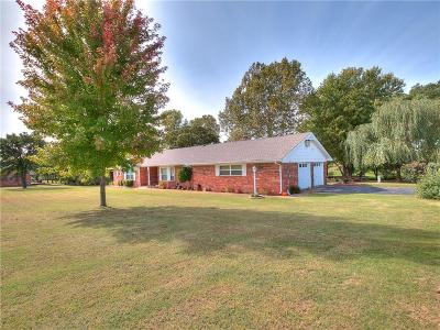 Blanchard Single Family Home For Sale: 2409 S County Line Avenue