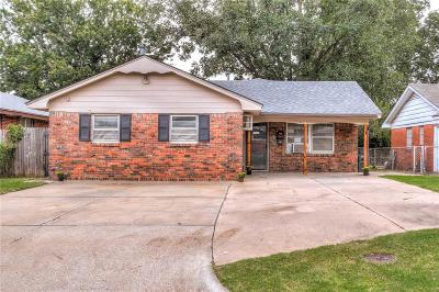 Del City Single Family Home For Sale: 2408 Knox Drive
