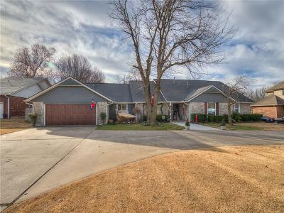 Midwest City Single Family Home For Sale: 9124 Nawassa Drive
