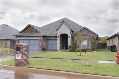 Moore Single Family Home For Sale: 2601 Ethan Lane