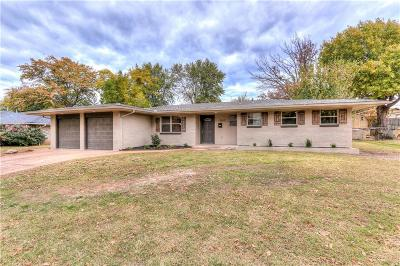 Midwest City Single Family Home For Sale: 3212 N Glenvalley Drive