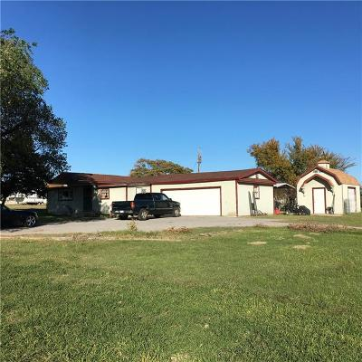 Fort Cobb Single Family Home For Sale: 28023 County Street 2550